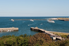 Heligoland eastern harbour