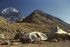 Overnight camp in Deraphuk