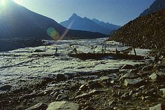 Crossing near the spring of Brahmaputra