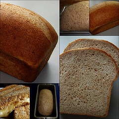 Open Top Pan Bread