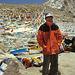 Mountain guide Sheilah at the Drolma La pass
