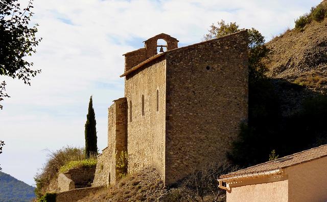 Chapelle haute des Mées