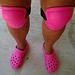 Pink Croc Knee Pads (6000)