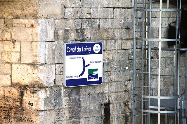 Ecluse de Buges - Canal du Loing