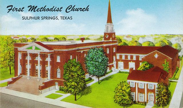 Methodist Church, Sulphur Springs, TX