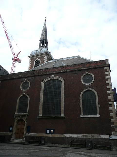 st.mary abchurch, london