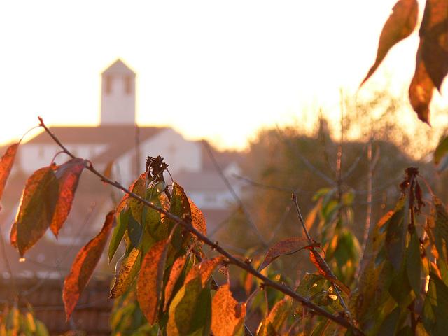 St. Barbara im Herbst