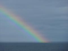 Rainbow on the North Sea