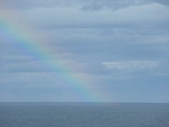 Rainbow on the North Sea