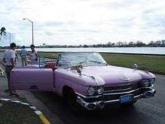 Cadillac taxi /  Varadero, CUBA.  3 février 2010 - Photo originale