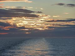Sunset on the North Sea
