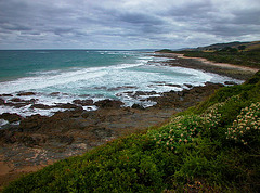 Wonderful vista from the Great Ocean Road