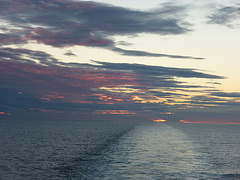 Sunset on the North Sea