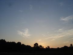 Coucher de soleil / Sunset - Pocomoke, Maryland. USA - 18 juillet 2010 - Photo originale
