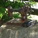 Décoration artisanale / Artwork decoration - Dans ma ville / Hometown - 14 juillet 2009.