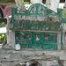Décoration artisanale / Artwork decoration - Dans ma ville / Hometown - 14 juillet 2010.