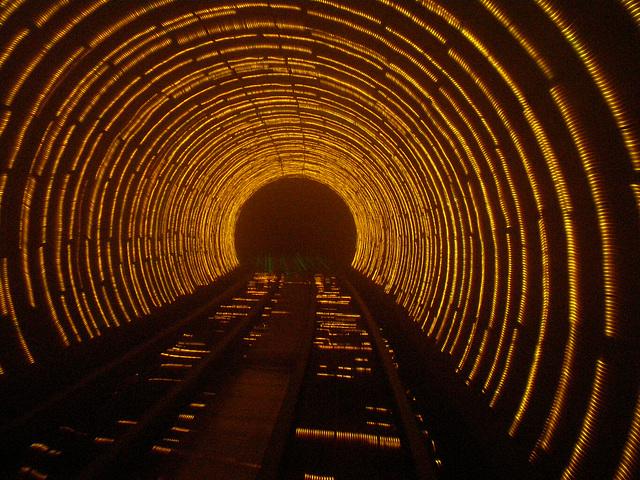 Tunel en Shangai