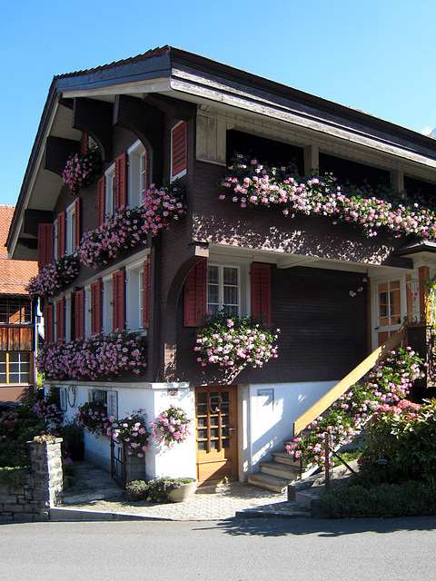 IMG 3698 Haus in Lungern