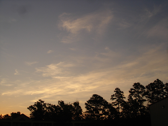 Coucher de soleil / Sunset - Pocomoke, Maryland. USA - 18 juillet 2010- Option coucher de soleil