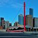 Skyline of Melbourne from the Wurundjeri way