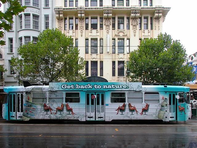 Streetcar in Melbourne