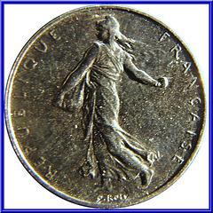 1 Franc Semeuse 2001 Avers