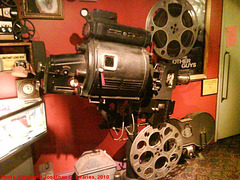 Simplex Movie Projector, Strand Theater, Picture 2, Old Forge, New York, USA, 2010