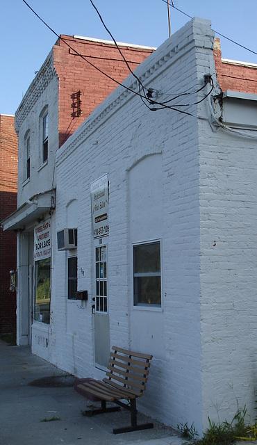 Professional hair salon / Pocomoke, Marylan. USA - 18 juillet 2010 - Recadrage