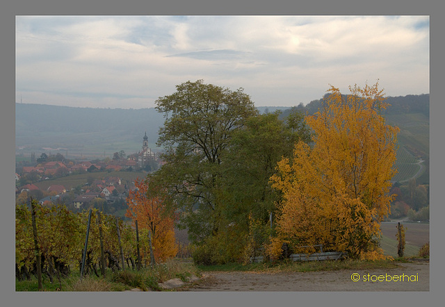 Castell: View to St. Johannes Church