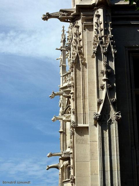 Rouen, les gargouilles du Palais de Justice