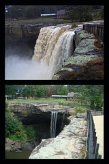 Changing Face of Noccalula Falls