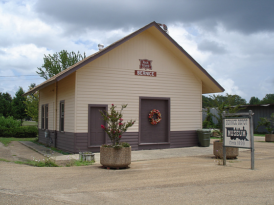 Museum circa 1899 /  Bernice, Louisiane. 07-07-2010