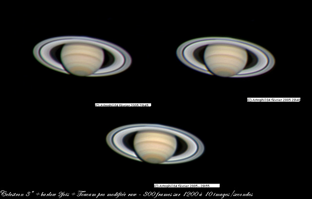 Saturne O4 février 2005
