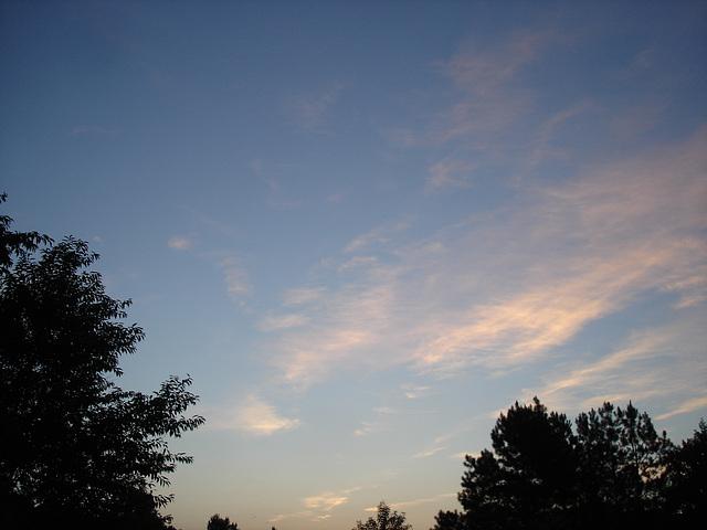 Coucher de soleil / Sunset - Pocomoke, Maryland. USA - 18 juillet 2010