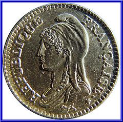 1 Franc République 1992 Avers