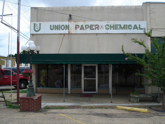 Union paper chemical / Bernice, Louisiana. USA - 7 juillet 2010