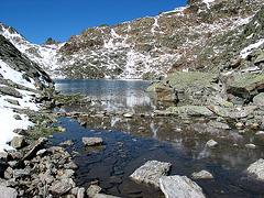 Tieftalsee 2783 m Höhe