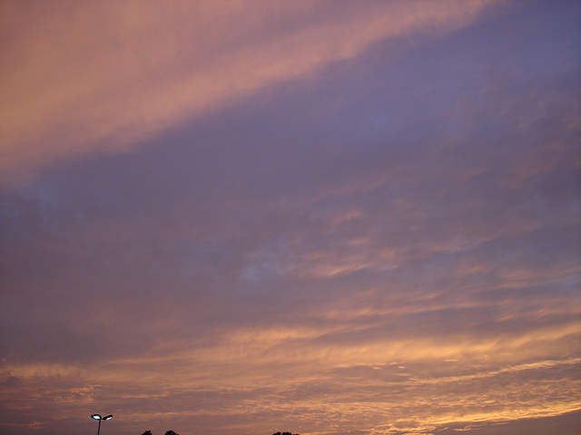 Coucher de soleil / Sunset - Pocomoke, Maryland. USA - 18 juillet 2010