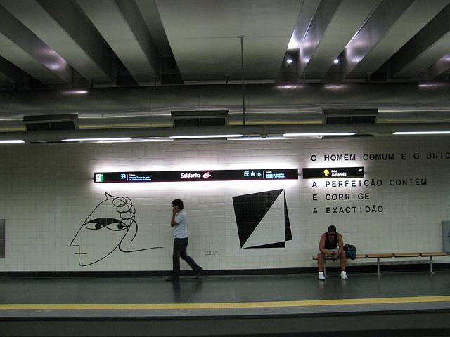 Lisabona metrostacio