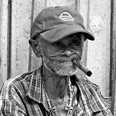 Dans une rue de Trinidad