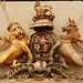 st george, bloomsbury, royal arms