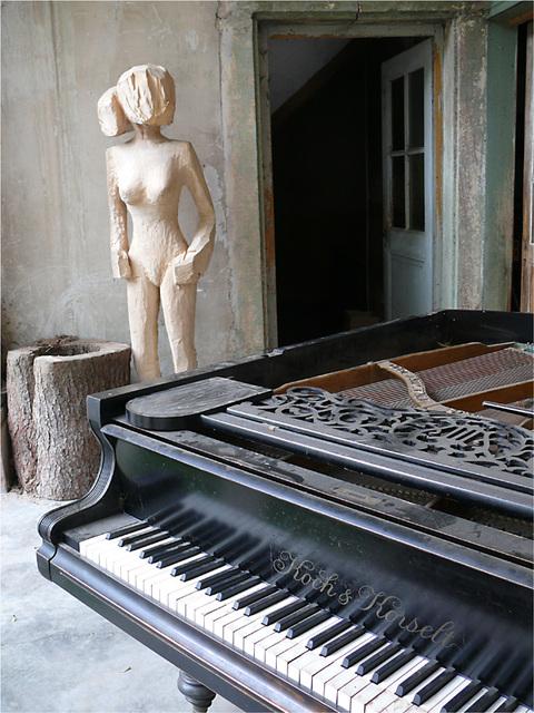 la femme au piano 1