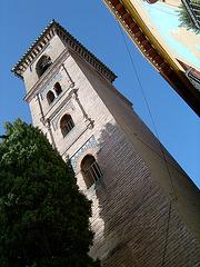 Torre mudejar de Sta.  Ana. Granada
