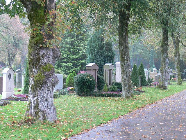 Gauting - christlicher Friedhof