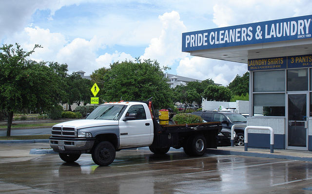 Pride cleaners & laundry truck