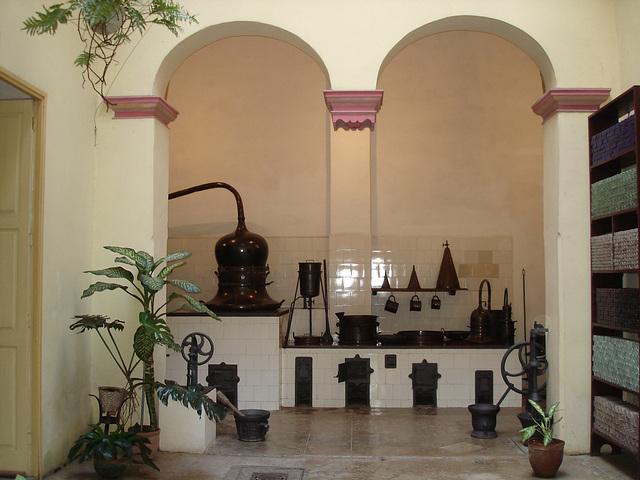 Musée de la pharmacie / Drugstore museum - Matanzas, CUBA. 5 février 2010