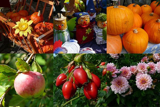 Herbst - aŭtuno - automne - Variante 2