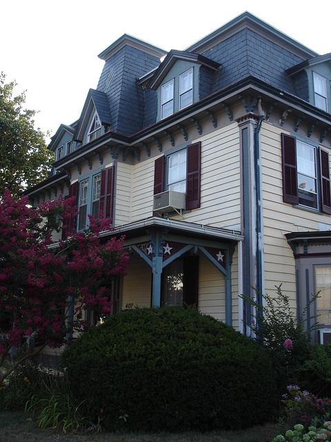 Maryland history Littleton T. Clarke house /  Pocomoke, MD. USA - 18 juillet 2010