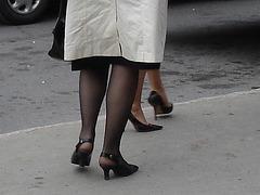 Les Dames STM en talons hauts / STM Ladies in high heels - Montréal, QC. Canada