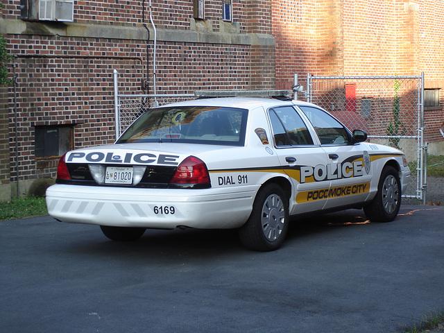 Pocomoke city police car / Auto de Police - Pocomoke, Maryland. USA - 18 juillet 2010.